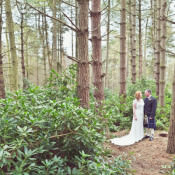 Woodland Tipi Glamping Wedding