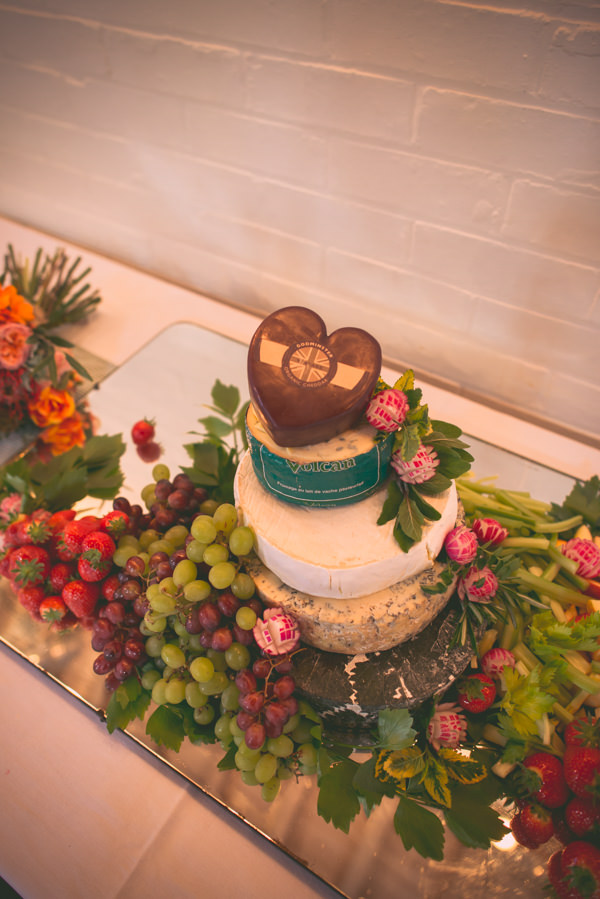 Country Vintage Homemade Wedding Cheese Tower http://www.sophieduckworthphotography.com/