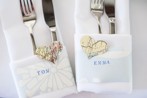 Heart Map Place Name Setting Wedding http://www.eleanorjaneweddings.co.uk/