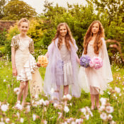 Pretty Flower Fairy Bridesmaid Ideas