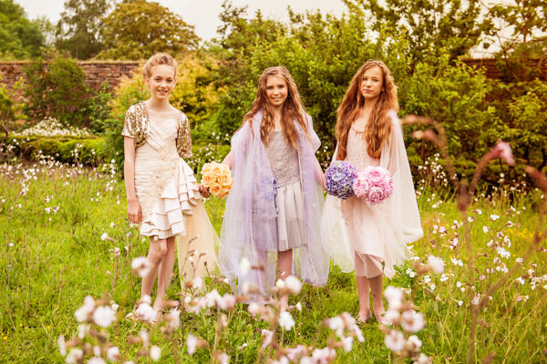 Flower Fairy Bridesmaid Ideas http://katforsyth.com/