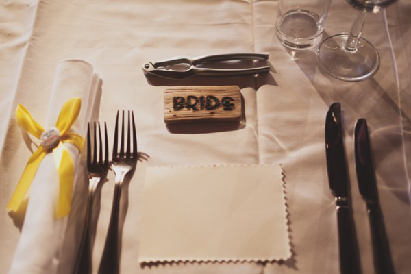 Engraved Wood Place Setting Name Wedding http://www.paulfullerkentphotography.com/