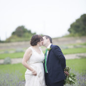 Homemade Rustic Lavender Farm Barn Wedding