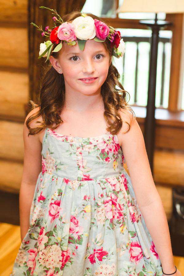 Bohemian Ranch Family Colorado Wedding Flowercrown Flowergirl http://fromthehipphoto.com/