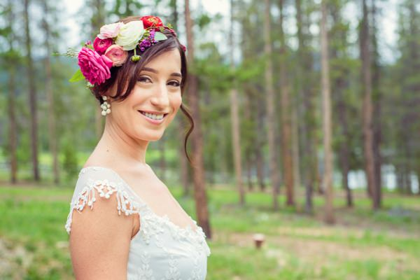 Bohemian Ranch Family Colorado Wedding Flowercrown Hairpiece Bride  http://fromthehipphoto.com/