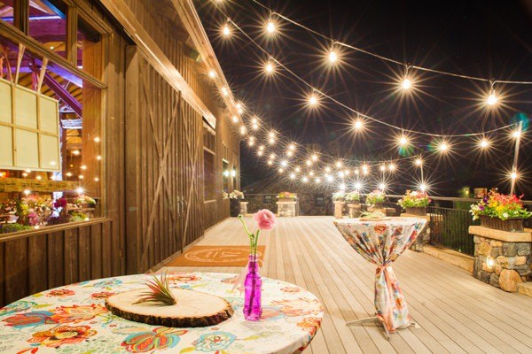 Bohemian Ranch Family Colorado Wedding Festoon Lights http://fromthehipphoto.com/