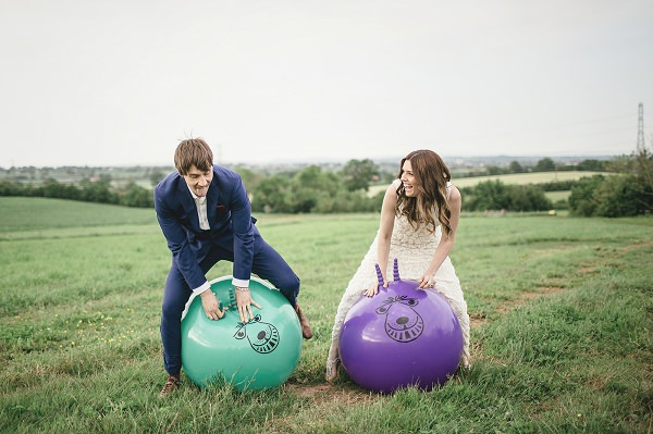 Organic Farm Stone Circle Wedding Spacehoppers http://www.kat-hill.com/