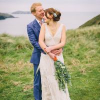 Seaside Farm Wales Wedding http://www.wellingsweddings.com/