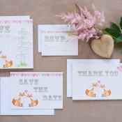 Melanie's Studio Designs. Luxury Illustrated Wedding Stationery. In The Hotseat