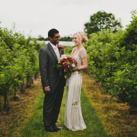 Gold Red Glam English Indian Wedding http://amybphotography.co.uk/