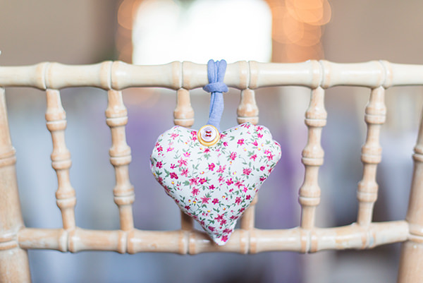 Country Folksy Pre-Raphaelite Wedding Felt Hearts Chairs http://www.georgimabee.com/