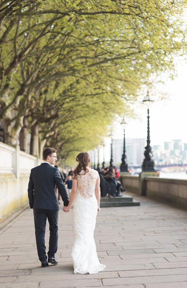 Claire Pettibone 'Sky Between Branches' Bride Dress Floral Elegant London Wedding  http://www.georgimabee.com/