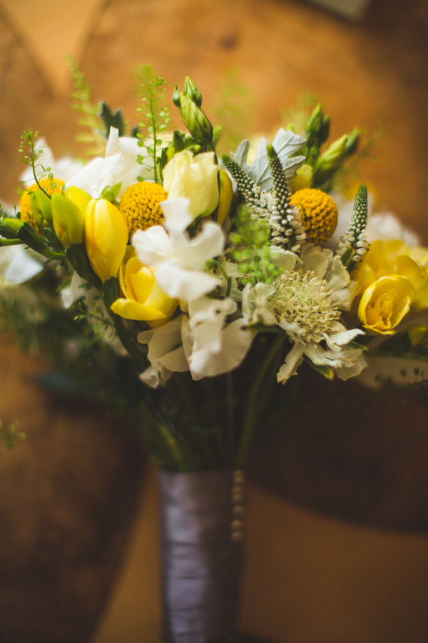 English Country Garden Downton Abbey Wedding Yellow White Bridal Bouquet  http://www.s6photography.co.uk/