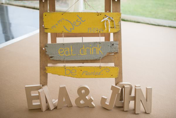 Family Farm Yellow Marquee Wedding Rustic Sign http://www.fayecornhillphotography.co.uk/
