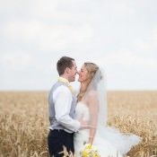 Family Farm Rustic Yellow Marquee Wedding