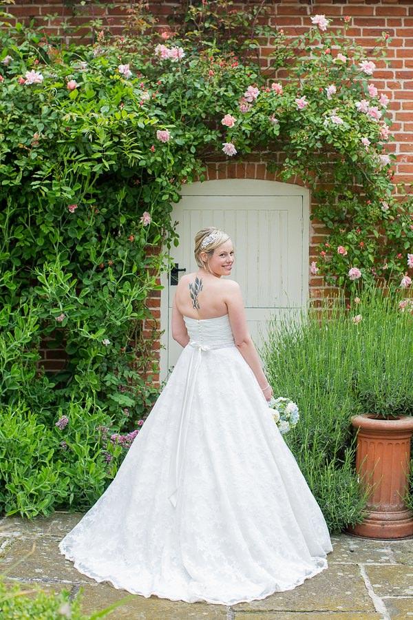 Fresh Fun Relaxed Blue & Green Wedding Mori Lee Bride Dress http://www.katherineashdown.co.uk/