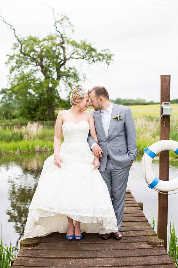 Fresh Fun & Relaxed Blue & Green Wedding