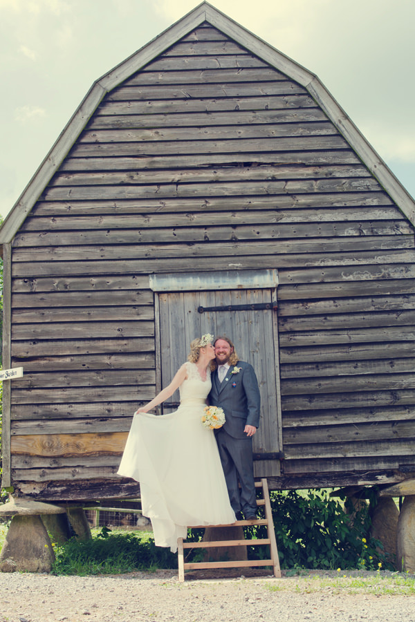 Outdoorsy & Rustic Homemade Blush Farm Wedding