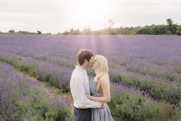 Dreamy Lavender Engagement