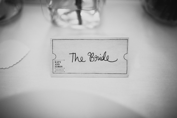 Eclectic Quirky Wedding Ticket Place Names http://www.claudiarosecarter.co.uk/