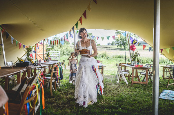 Colourful Festival Wedding http://www.pixiesinthecellar.co.uk/