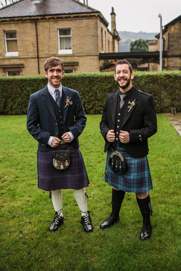 Rustic Cosy Wedding Tartan Kilt Groom http://www.tierneyphotography.co.uk/