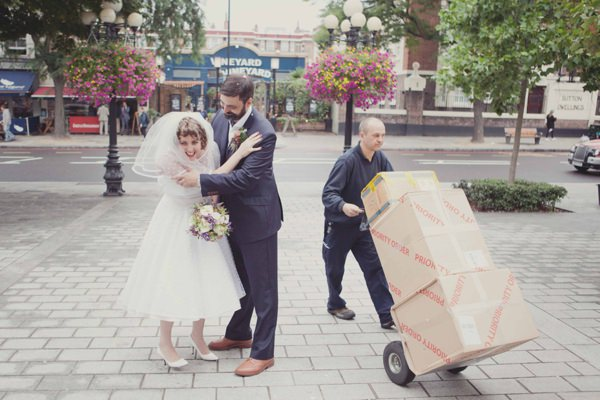Quirky City Wedding http://www.philippajamesphotography.com/