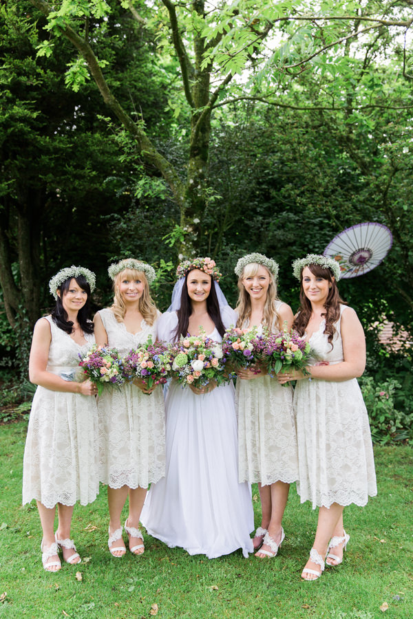 Fairytale woodland wedding