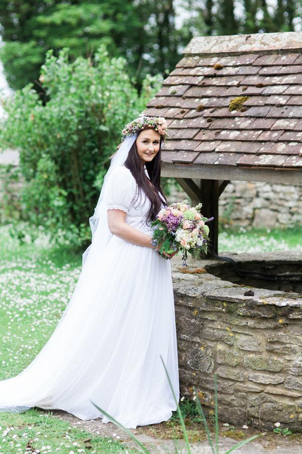 Whimsical woodland fairytale wedding whimsical for Woodland fairy wedding dress
