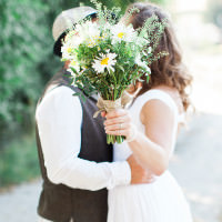Natural Rustic Daisy Wedding http://www.camillaarnholdphotography.com/