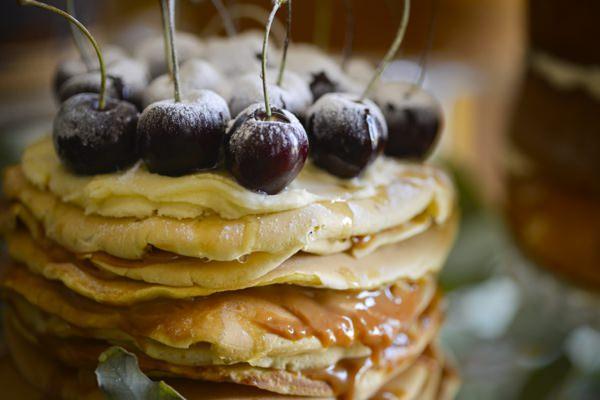 Ethereal Woodland Wedding Ideas Pancakes http://www.careysheffield.com/