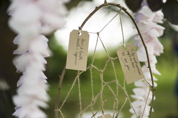 Ethereal Woodland Wedding Ideas Dream Catcher Guest Book http://www.careysheffield.com/