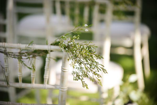 Ethereal Woodland Wedding Ideas Aisle Chair Decor Foliage http://www.careysheffield.com/