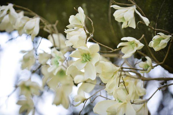 Ethereal Woodland Wedding Ideas Paper Flower Branch http://www.careysheffield.com/