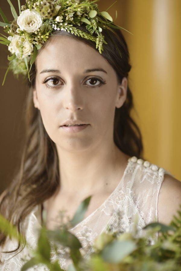 Ethereal Woodland Wedding Ideas Flowercrown Bride http://www.careysheffield.com/