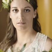 Ethereal English Rose Bridal Look. Real Bride Kate