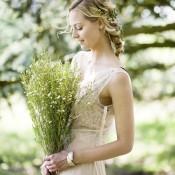 Beautiful Rustic Woodland Bridal Look. WWW Editorial.