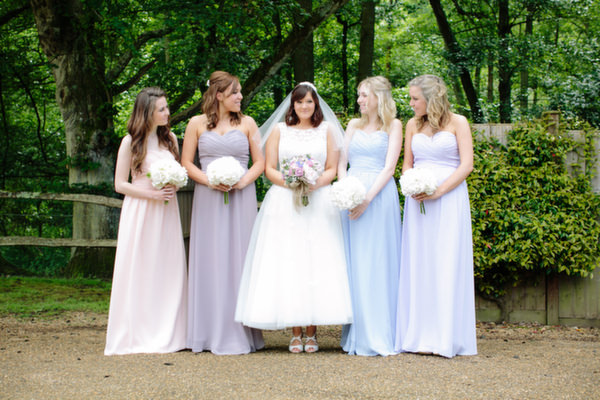 The Bride Diaries. Kirsty's Pastel Homemade Walled Garden Wedding Part 1