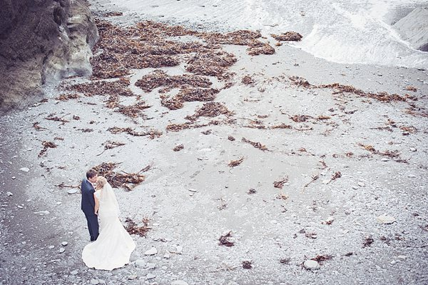Non Traditional Informal BBQ Beach Wedding