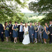 Crafty Colourful Country Outdoorsy Marquee Wedding