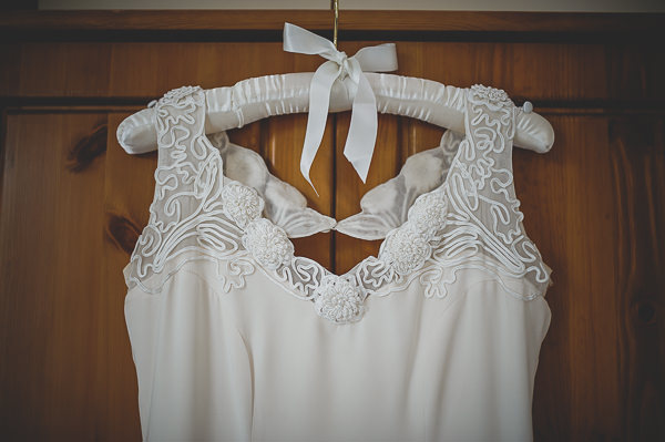 Magical Crafty Outdoorsy Village Hall Wedding Vintage Dress http://www.foxleyphotography.com/