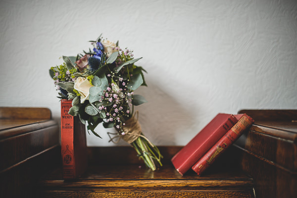 Magical Crafty Outdoorsy Village Hall Wedding Rustic DIY Bridal Bouquet http://www.foxleyphotography.com/