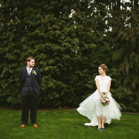 Quirky Stylish Barn Wedding http://www.mikeandtom.co.uk/
