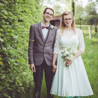 Eccentric Outdoorsy Homemade Wedding http://www.mybeautifulbride.co.uk/