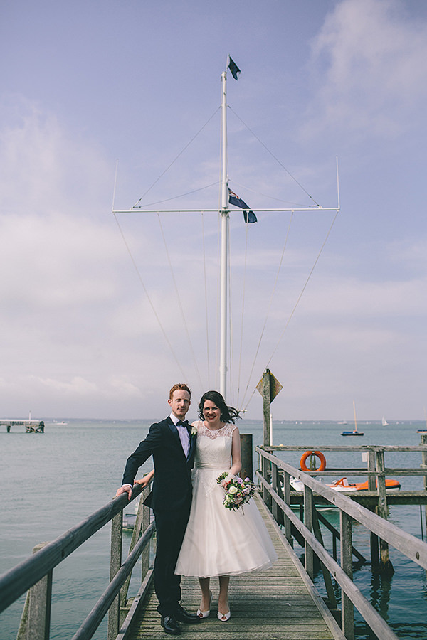 Simple Classic Vintage Yacht Club Wedding