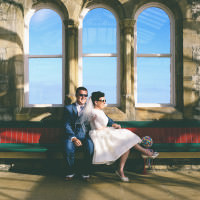 Kitsch Retro Quirky Eccentric Candy Wedding http://www.emmaboileau.co.uk/