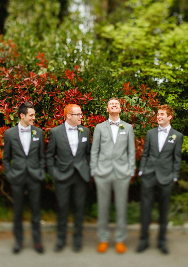 Bow Tie Groom Stylish Relaxed Hertfordshire Wedding http://www.mikiphotography.info/