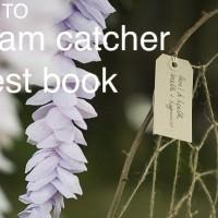 DIY Dream Catcher Wedding Guest Book Tutorial