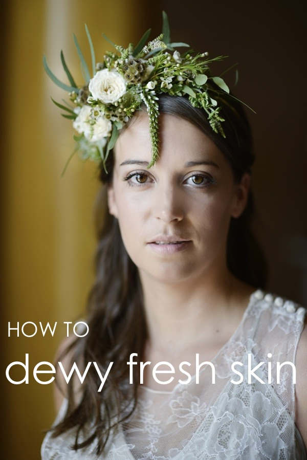 Outdoor Wedding Makeup Tutorial : DIY Bridal Make Up Tutorial. How to Create Dewy Fresh Skin ...
