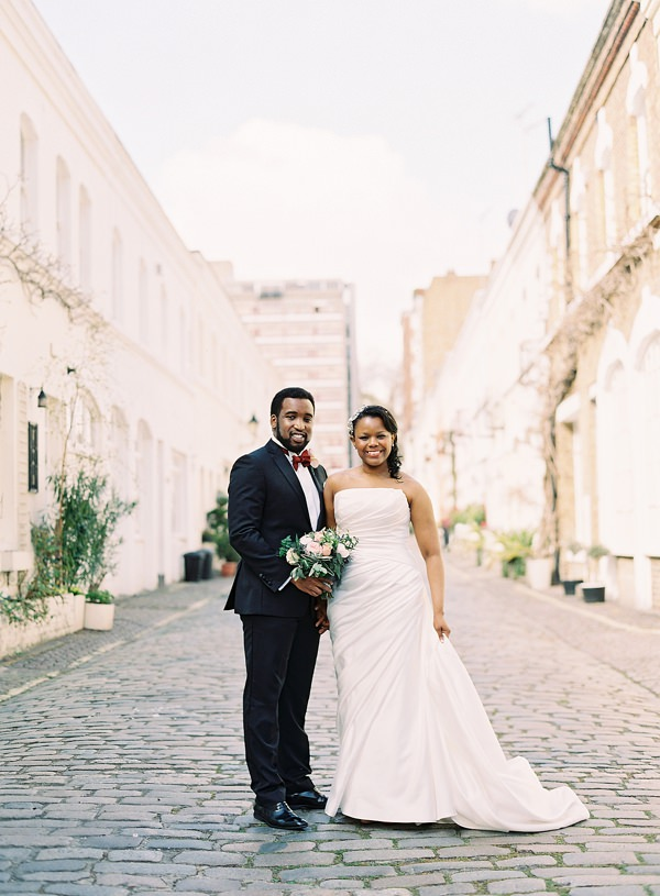 Classic & Elegant City Chic London Wedding